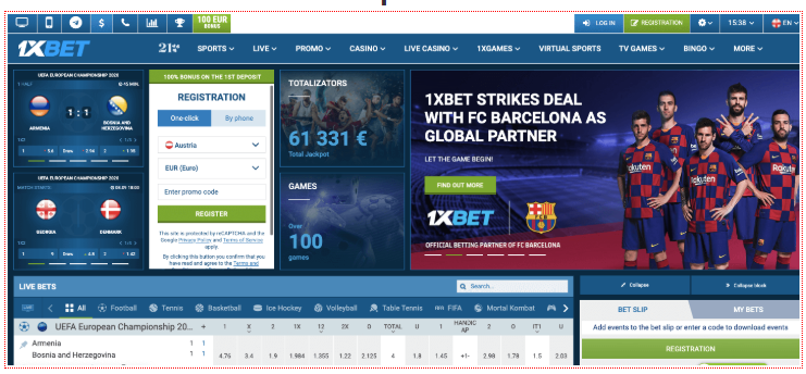 Experience The Top Notch Process Involved In 1xBet India