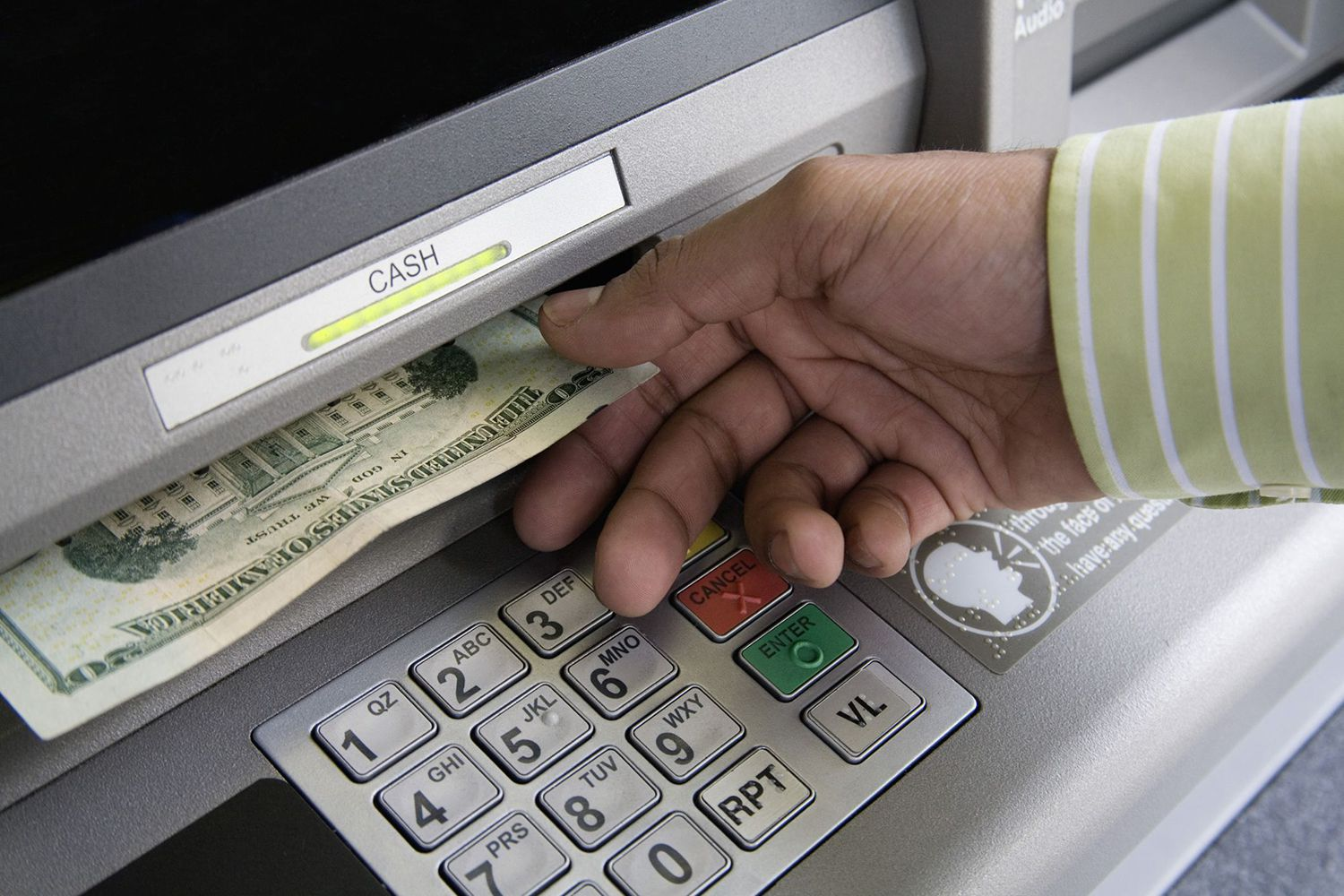 You can also use credit card cash advance.